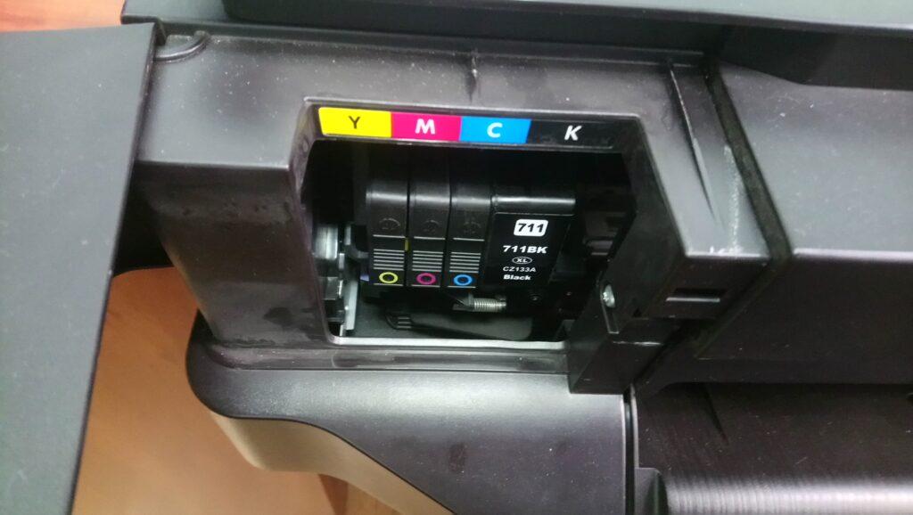 Не печатает t520