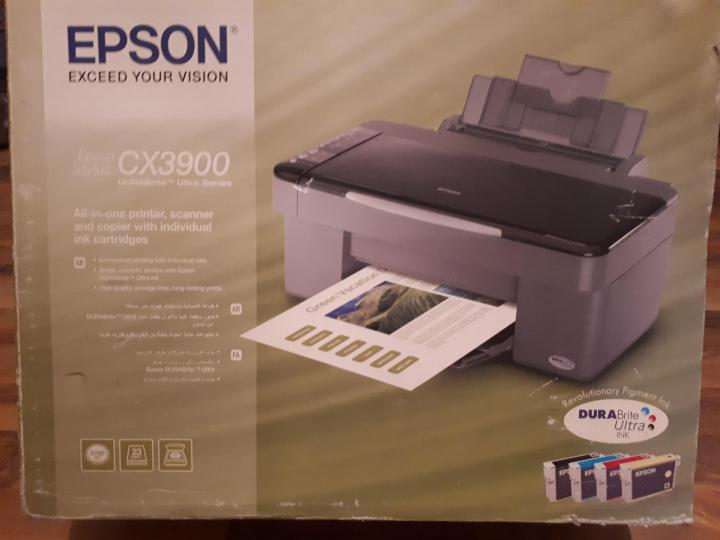 Не печатает epson cx3900