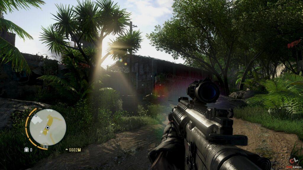 Far Cry черный экран