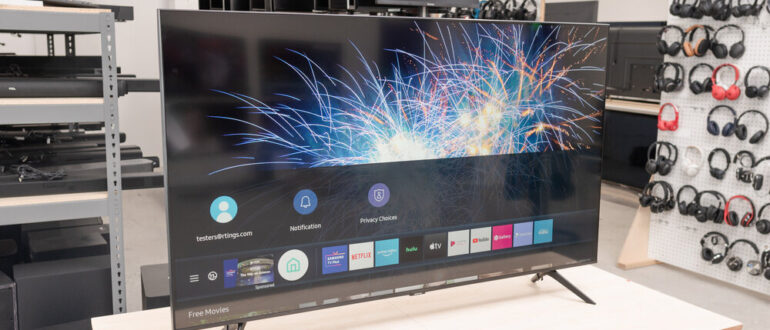 телевизора ue50tu8000u
